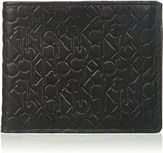 Calvin Klein Men's Logo Embossed Billfold W/Coin Pocket