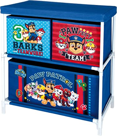 Nickelodeon  Paw Patrol 84012-S Storage Cabinet with drawers  Blue