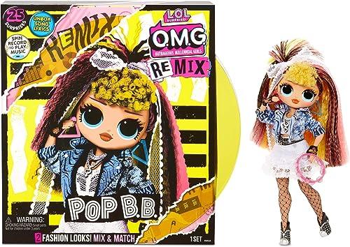 LOL Surprise OMG Remix - Avec 25 Surprises - A collectionner Poupée mannequin, Vêtements & Accessoires - Pop BB