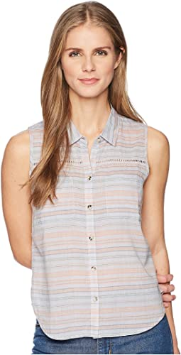 Toad&Co - Airbrush Sleeveless Deco Shirt