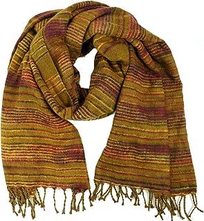 Guru-Shop Weicher Goa Schal/Stola, Herren/Damen, Rosa, Synthetisch, Size:One Size, Schals Alternative Bekleidung