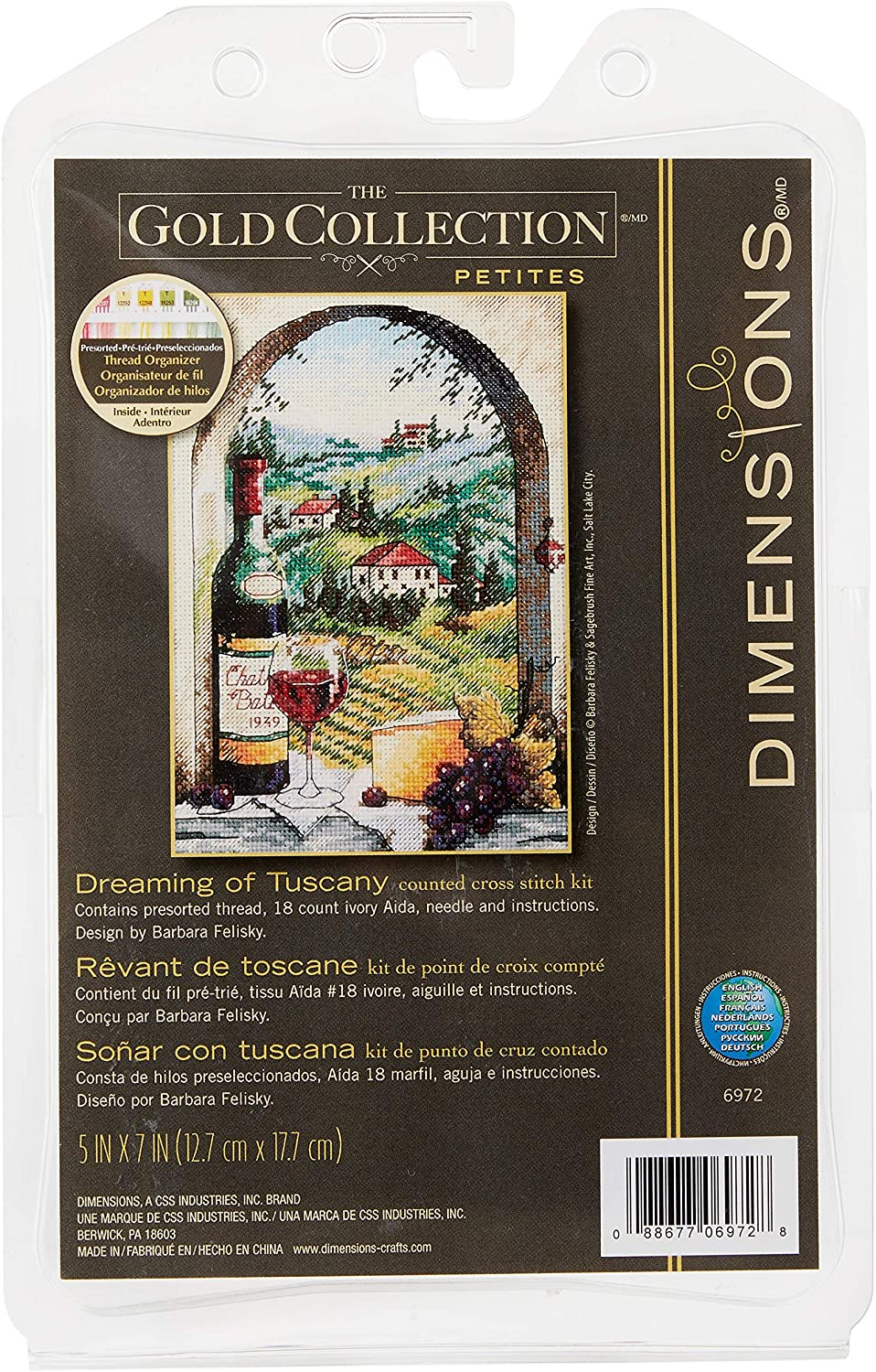 Max 66% OFF Dimensions Superior Gold Collection Counted Cross Stitch of Kit Dreaming
