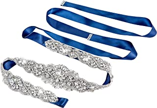 SIYWINA Correas Cinturón de Diamantes Nupcial Cinturón Para las Partido de la Tarde Boda Nupcial Mujeres