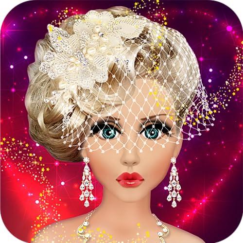 Maquillaje Muñeca Barbie novia de la boda, Peinado y Disfrazarse Moda Top...