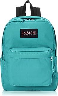 Mochila JanSport Superbreak Além disso para laptop - Pacote escolar leve, Clássico Teal, One_Size