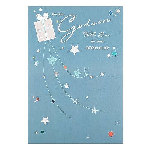 Hallmark Godson Birthday Card Special