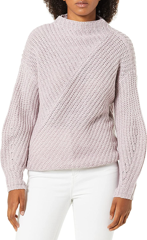 William Rast Women's ハイクオリティ セール特価 Robbin Mock Neck Oversize Sweater