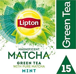 Lipton Tea Matcha Mint, 15 Teabags