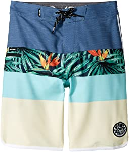 Rip Curl Kids - Mirage Crew Boardshorts (Big Kids)