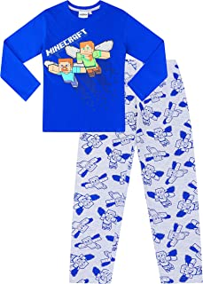 Pijama largo oficial de Minecraft Gaming Surf The Web de