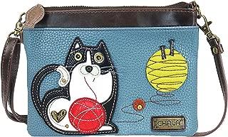 Chala Fat Cat Mini Crossbody Handbag - Convertible Strap, Cat Lovers Gifts