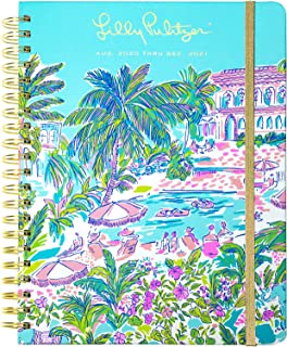 $34 » Lilly Pulitzer Jumbo 2020-2021 Planner Weekly & Monthly, Dated Aug 2020 - Dec 2021, 17 Month Hardcover Agenda with Notes/A...