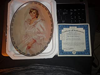 The Peoples Princess Diana Plate by Bradford Exchange