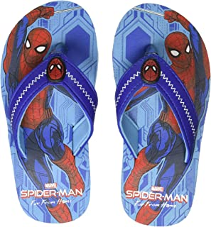 Spiderman by Kidsville Sky Blue Boys Flipflops Flip-Flops