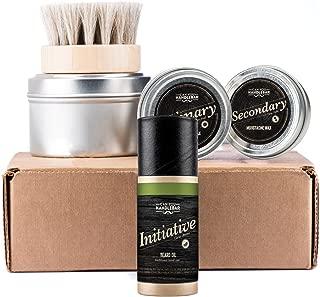 CanYouHandlebar Basic Beard Care Kit : Initiative Beard Oil Bottle