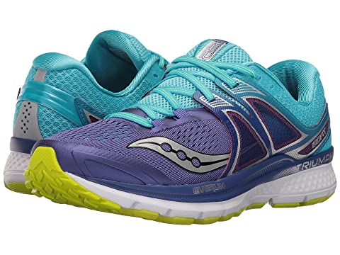 Saucony , PURPLE/BLUE/CITRON