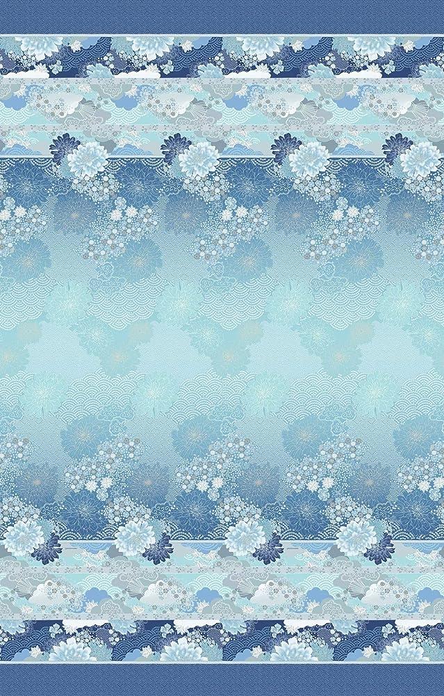 bassetti, copriletto trapuntato madama butterfly, 265 x 255 cm,in 100% cotone