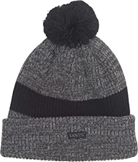 Men's Pompom Cable Beanie Hat