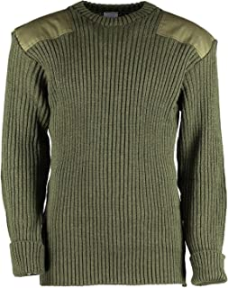 Dallaswear Adults Military Army Security Pullover Jumper Sweater Crew Neck