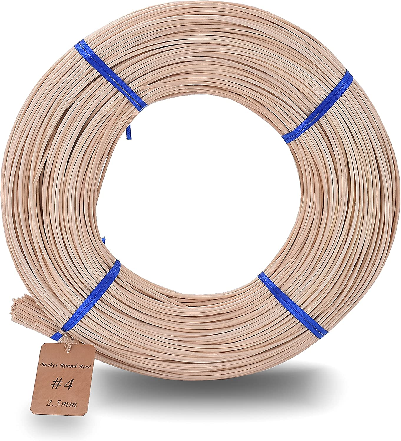 Basket Round Selling rankings Reed #4 2.5mm 1-Pound Cane Weaving for Bargain Coil
