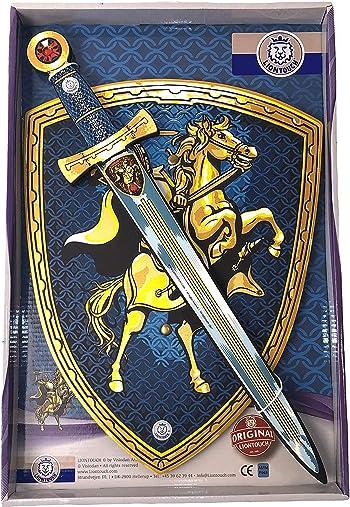 Liontouch 29400LT Disfraz de Caballero de Juguete para niños | Línea de Disfraces con Espada y Escudo de Espuma: Amazon.es: Juguetes y juegos