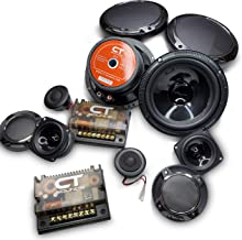 CT Sounds Strato 6.5 Inch 3-Way Car Audio Component Speaker Set photo