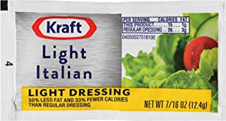 Kraft Italian Reduced Fat Salad Dressing (0.4 oz Packets, Pack of 200)