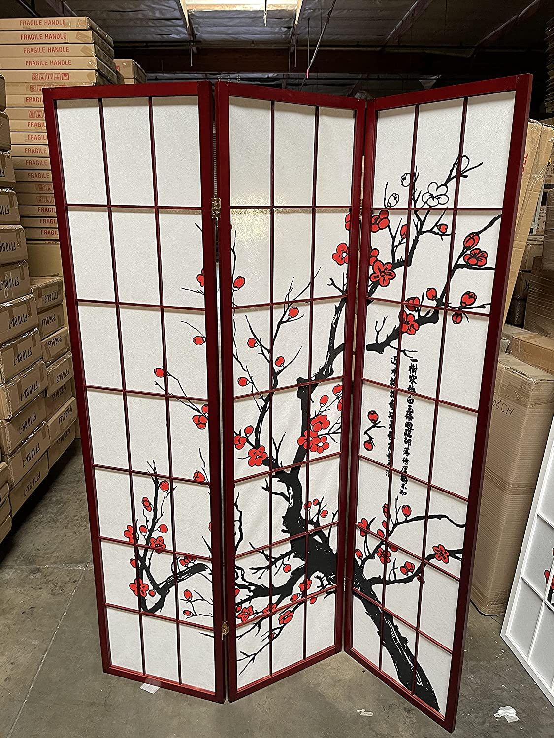 Select Plum Blossom Color and Panel Cherry to Divider Large discharge sale 8 3 25% OFF Room