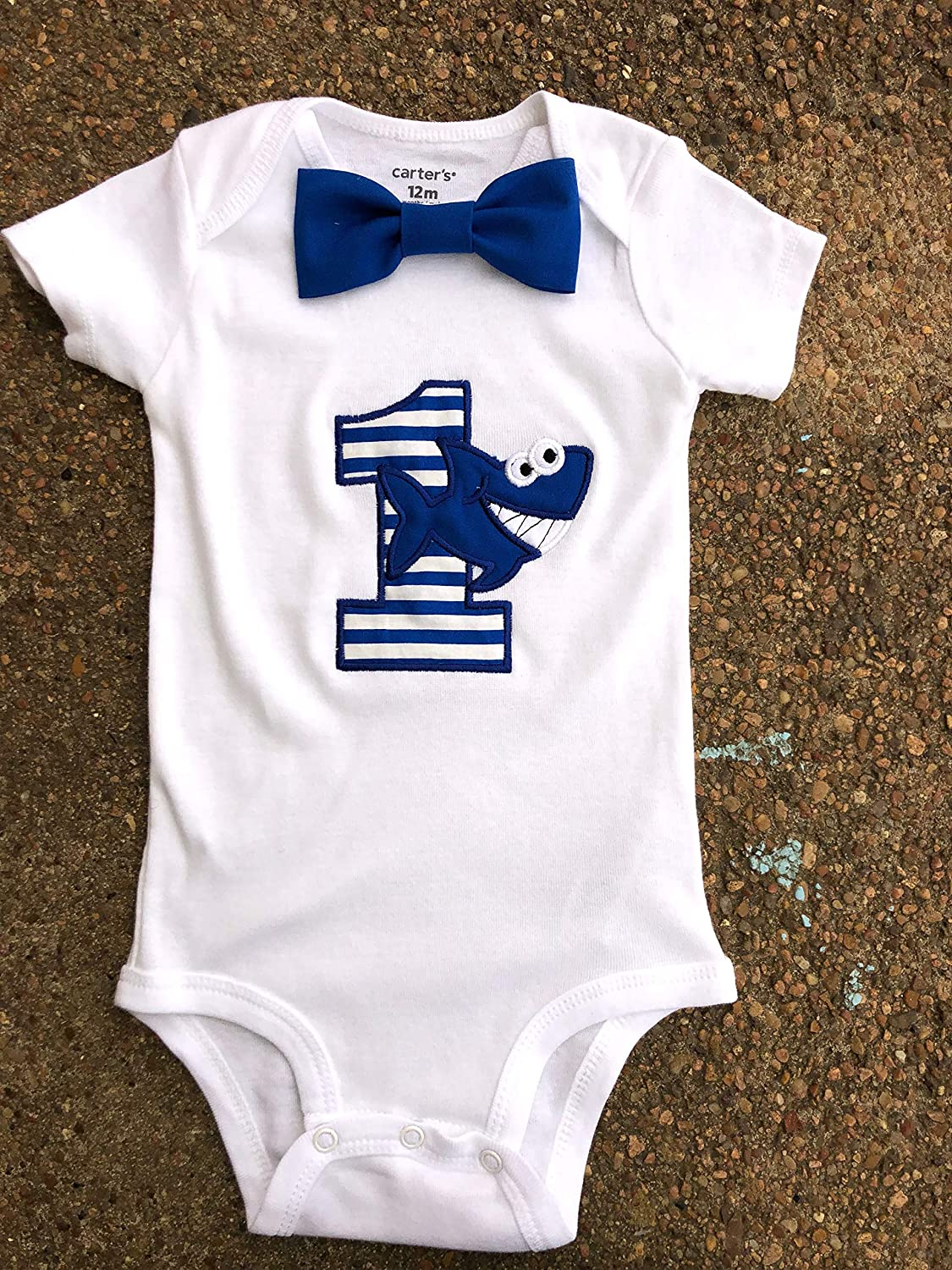 Boy first birthday Shark First blue New product baby boy Challenge the lowest price of Japan ☆ Cool shark