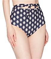 Tory Burch Swimwear - Double Diamonds High-Waist Bottoms