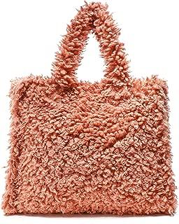 Stand Women's Lolita Faux Shearling Bag Orange