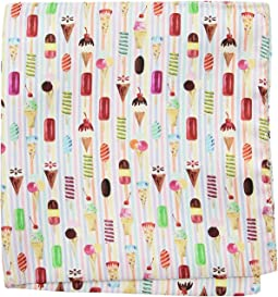 Eton - Ice Cream Cone Pocket Square