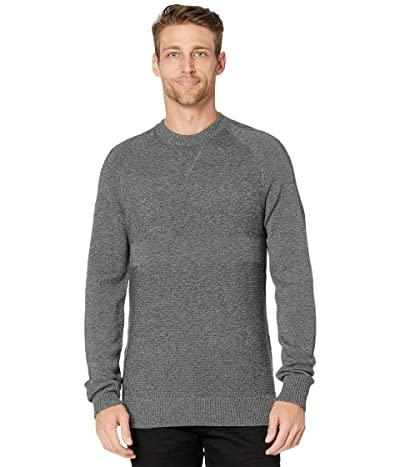 Smartwool Ripple Ridge Crew Sweater (Lunar Gray Heather/Charcoal Heather) Men