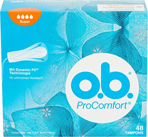 o.b. Tampons Pro Confort Super de 48 Pièces