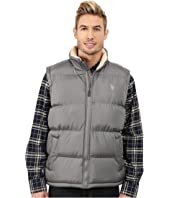 U.S. POLO ASSN. - Signature Vest with Inner Sherpa Collar
