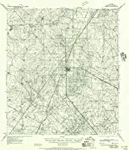 YellowMaps Freer TX topo map, 1:62500 Scale, 15 X 15 Minute, Historical, 1956, Updated 1956, 20.9 x 18 in
