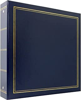 MCS MBI Library Collection 400 Pocket 4x6 Photo Album in Blue