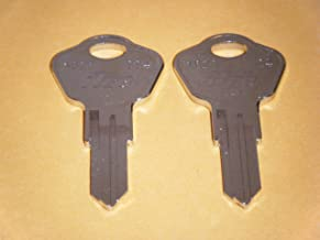 Sentry Safe Keys CUT To Codes 3A2 3B2 3C2 3D2 3E2 3F2 3G2 3H2 3J2 3K2 MAKE SURE YOU CHOOSE YOU NUMBER BEFORE ORDERING 2 Two Working Keys Sentry Safe Chest & File Keys Model 1100 & Many Models (3J2)