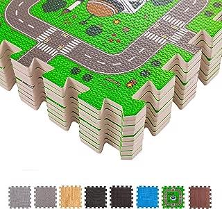 BodenMax CRS-FL3010MAP-18 Alfombrilla Puzzle protectora de