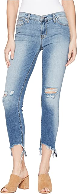 Hudson - Tally Mid-Rise Skinny Crop in Countdown