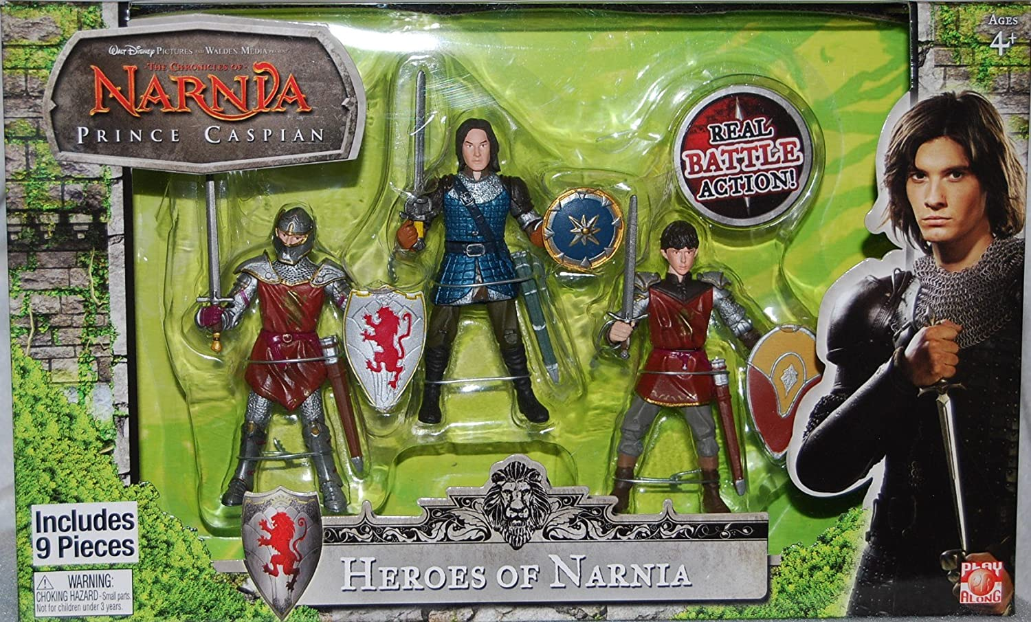 Chronicles of Narnia Prince Caspian Basic Figure 3Pack  heroes of narnia