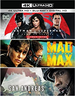 Batman V Superman: Dawn of Justice/Mad Max: Fury Road/San An