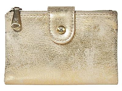 Hobo Ray (Distressed Gold) Wallet Handbags