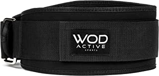 Weightlifting Belt for WODs/Olympic Lifts - Lifting Belt w/4 inch Back Support