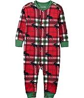 Union Suit - Holiday Moose on Plaid (Infant)