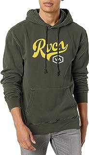 RVCA Men's Pigment Dye Hooded Pullover Fleece