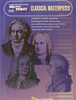 Classical Masterpieces: E-Z Play Today Volume 400