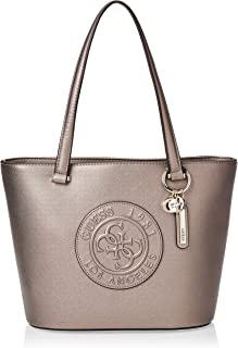 Guess Tote Bag for Women- Silver