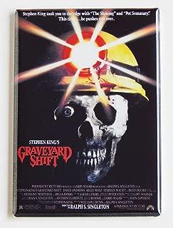 Graveyard Shift Movie Poster Fridge Magnet (2 x 3 inches)