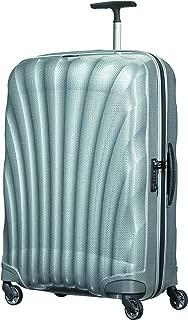 Samsonite 73351 Cosmo lite 3 Spinner Hard Side Luggage, Silver, 75 Centimeters
